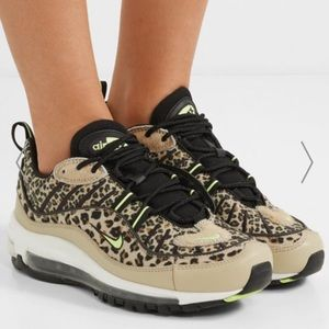 Nike Shoes - Auth New in Box Nike Leopard Air Max 98 PRM Sz6.5